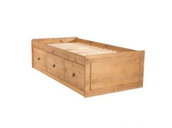 Pine Cabin Bed with Built in Drawers - CB800