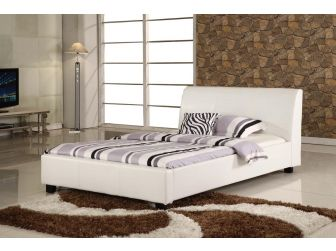 Faux Leather Bed Frame VALENCIA