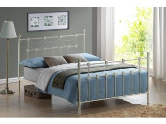 Quality Victorian Style Metal Bed Frame OMERO