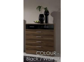 7 Drawer 900mm Wide Chest In 7 Colours GAMMA-319