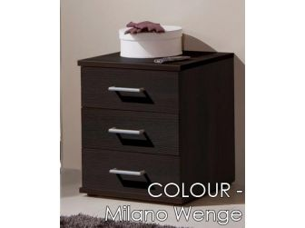 3 Drawer Chest 460mm In 7 Colours OMEGA-317
