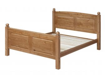 4ft 6 Double Pine Wooden Bed Frame ED460
