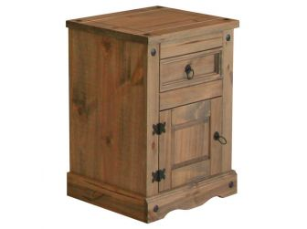 Bedside Cabinet With 1 Drawer & 1 Door CR510