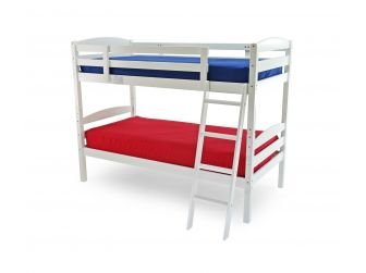 Moderna Bunk Bed in White or Antique Pine