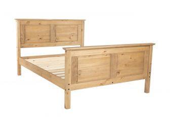 Pine Wooden Bed Frame - MX460
