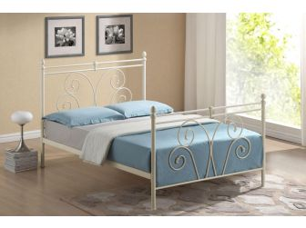 Quality Victorian Style Metal Bed Frame WALLACE