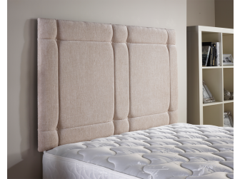 Caramel Aspire Universal Chenille Fabric Headboard UK Made