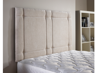Cream Aspire Universal Chenille Fabric Headboard UK Made