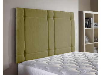 Lime Green Aspire Universal Chenille Fabric Headboard UK Made