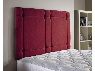 Raspberry Aspire Universal Chenille Fabric Headboard UK Made