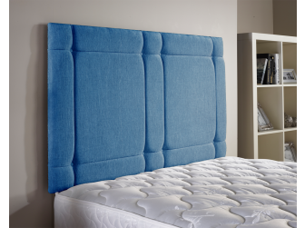 Teal Aspire Universal Chenille Fabric Headboard UK Made